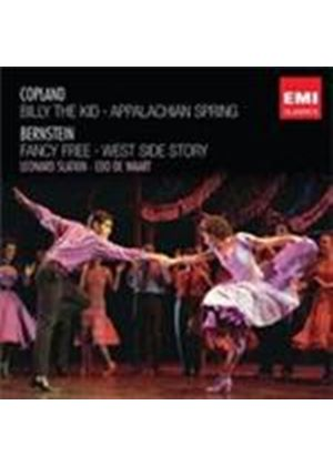 Copland: Billy the Kid; Appalachian Spring; Bernstein: Fancy Free; West Side Story (Music CD)