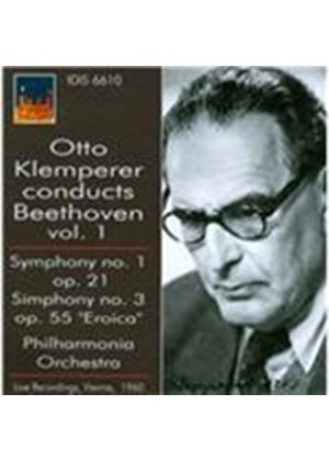 Otto Klemperer Conducts Beethoven, Vol. 1 (Music CD)
