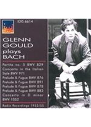 Glenn Gould Plays Bach (Music CD)