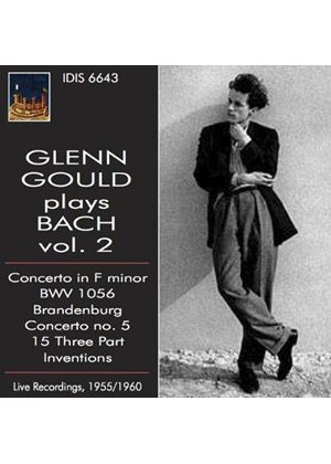 Glenn Gould plays Bach, Vol. 2 (Music CD)