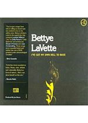 Bettye Lavette - Ive Got My Own Hell To Raise (Music CD)