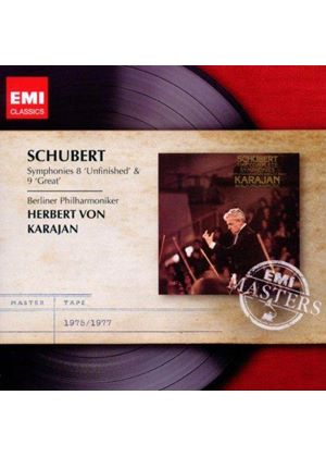 "Schubert: Symphonies Nos. 8 ""Unfinished"" & 9 ""Great"" (Music CD)"