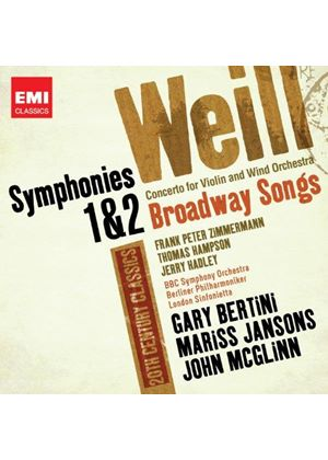 20th Century Classics: Weill (Music CD)