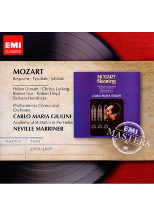Mozart: Requiem; Exsultate, jubilate (Music CD)