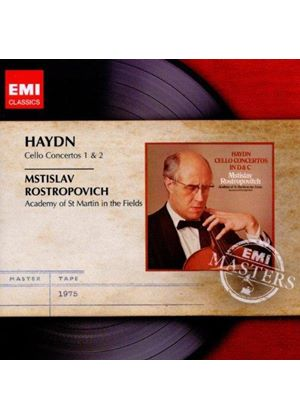 Haydn: Cello Concertos Nos. 1 & 2 (Music CD)