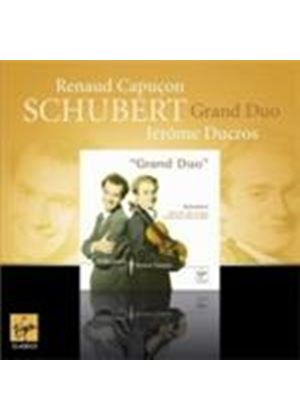 Schubert: Grand Duo (Music CD)