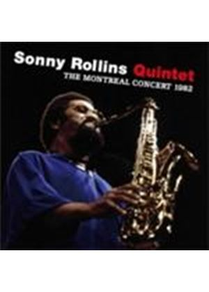 Sonny Rollins Quintet (The) - Montreal Concert 1982, The (Live) (Music CD)