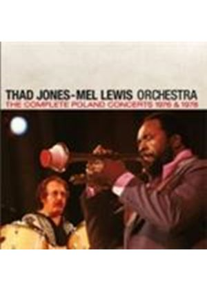 Thad Jones & Mel Lewis - Complete Live In Poland 1976 & 1978 (Music CD)