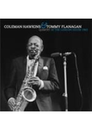 Coleman Hawkins & Tommy Flanagan Quartet - At The London House 1963 (Live) (Music CD)