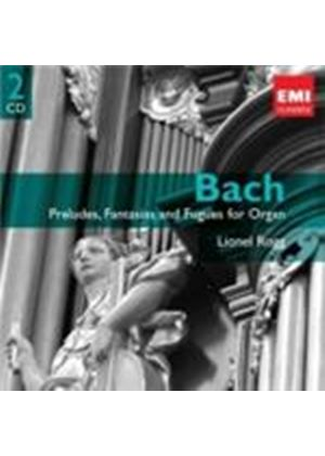 Bach: Preludes, Fantasias and Fugues for Organ (Music CD)