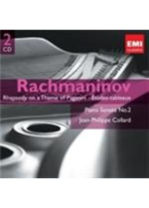 Rachmaninov: Rhapsody on a Theme of Paganini; Études-tableaux; Piano Sonata No 2 (Music CD)