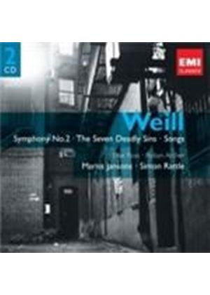 Weill: Symphony No 2; (The) Seven Deadly Sins; Songs (Music CD)