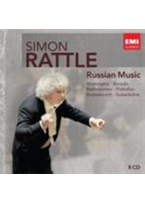 Simon Rattle Edition - Russian Music (Music CD)