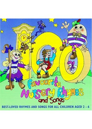 Various Artists - 100 Favourite Nursery Rhymes And Songs (Music CD)