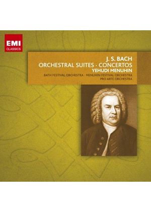Bach: Works with Orchestra (Music CD)