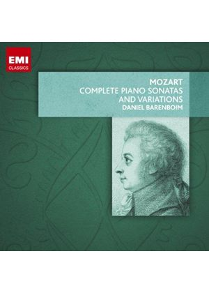 Mozart:The Complete Piano Sonatas and Variations (Music CD)