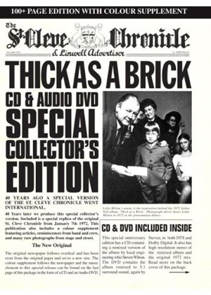 Jethro Tull - Thick As a Brick (40th Anniversary Special Edition) (CD + DVD) (Music CD)