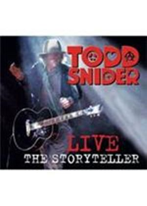 Todd Snider - Todd Snider Live The Storyteller (Music CD)