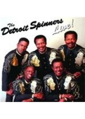 The Detroit Spinners - Live! (Music CD)