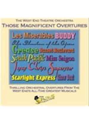 West End Concert Orchestra - Those Magnificent Overtures (Music CD)