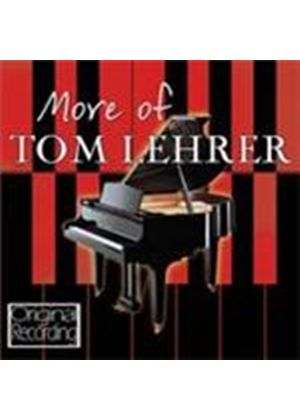 Tom Lehrer - More Of Tom Lehrer (Music CD)