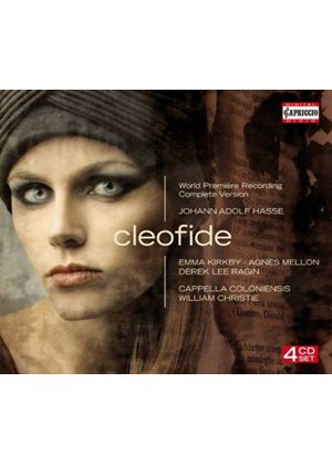 Johann Adolf Hasse: Cleofide (Music CD)