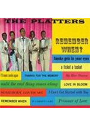 Platters (The) - Remember When (Music CD)