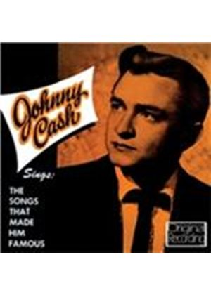 Johnny Cash - Sings the Songs That Made Him Famous (Music CD)