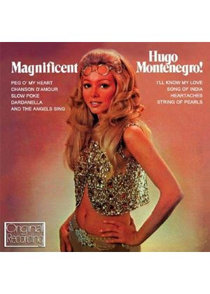 Hugo Montenegro - Magnificent Montenegro (Music CD)
