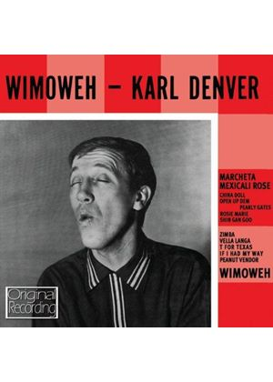 Karl Denver - Wimoweh (Music CD)