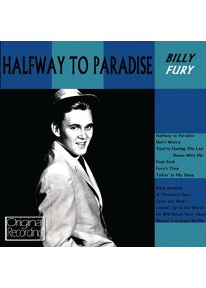 Billy Fury - Halfway to Paradise (Music CD)