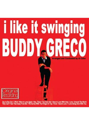 Buddy Greco - I Like It Swinging (Music CD)