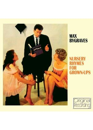 Max Bygraves - Nursery Rhymes for Grown Ups (Music CD)