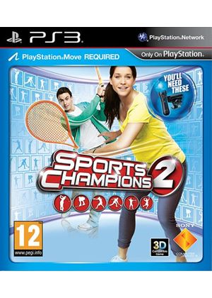 Sports Champions 2 - Move (PS3)