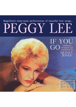 Peggy Lee - If You Go (Music CD)