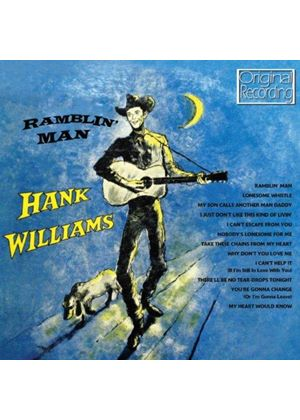 Hank Williams - Ramblin' Man (Music CD)