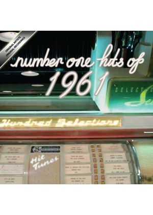 Various Artists - Number One Hits of 1961 (Music CD)