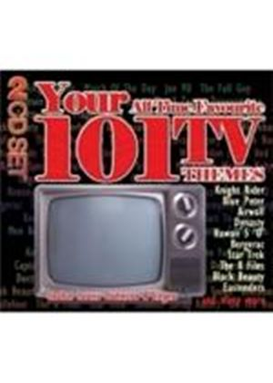 Various Artists - Your 101 All Time Favourite TV Themes (Music CD)
