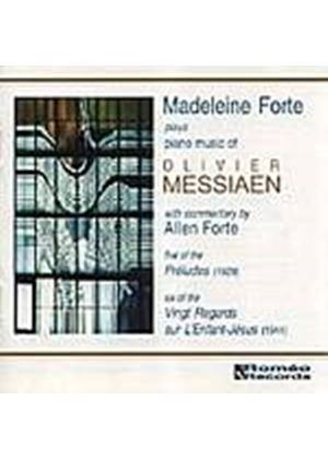 Olivier Messiaen - Madeleine Forte Plays The Piano Music Of (Music CD)