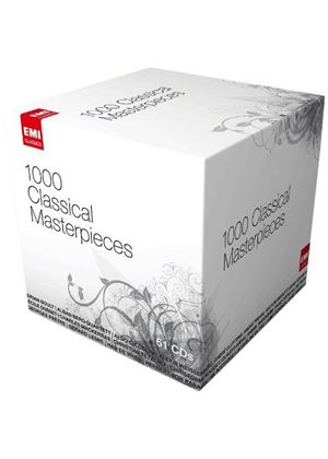 1000 Classical Masterpieces (Music CD)