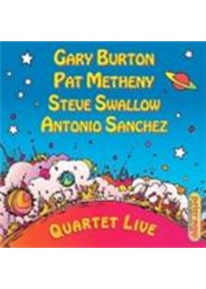 Gary Burton & Pat Metheny/Steve Swallow/Antonio Sanchez - Quartet Live (Music CD)