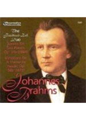 Brahms: Sonata for Two Pianos