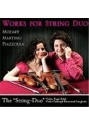 Mozart; Martinu; Piazzolla: Works for String Duo