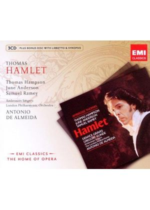 Ambroise Thomas: Hamlet (Music CD)