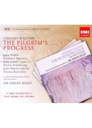 Vaughan Williams: The Pilgrim's Progress (Music CD)