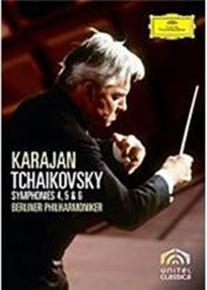 Tchaikovsky - Symphonies Four  Five And Six - Herbert Karajan / Berliner Philharmoniker