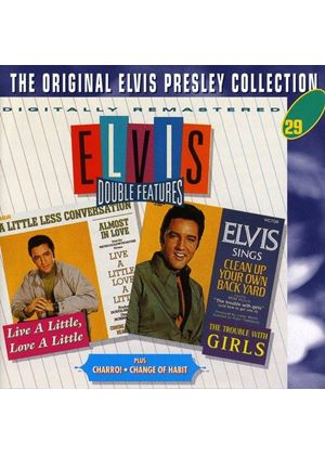 Elvis Presley - Live A Little.../Trouble With Girls/Change Of Heart/Charro (Double Feature/Original Soundtracks) (Music CD)