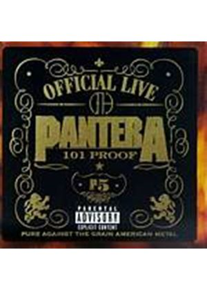 Pantera - Official Live - 101 Proof (Music CD)