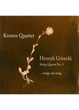 Henryk Gorecki - String Quartet No. 3 (Kronos Quartet) (Music CD)