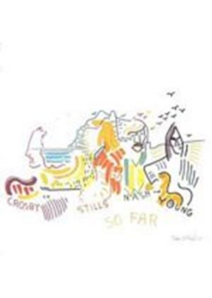 Crosby, Stills, Nash And Young - So Far (Music CD)